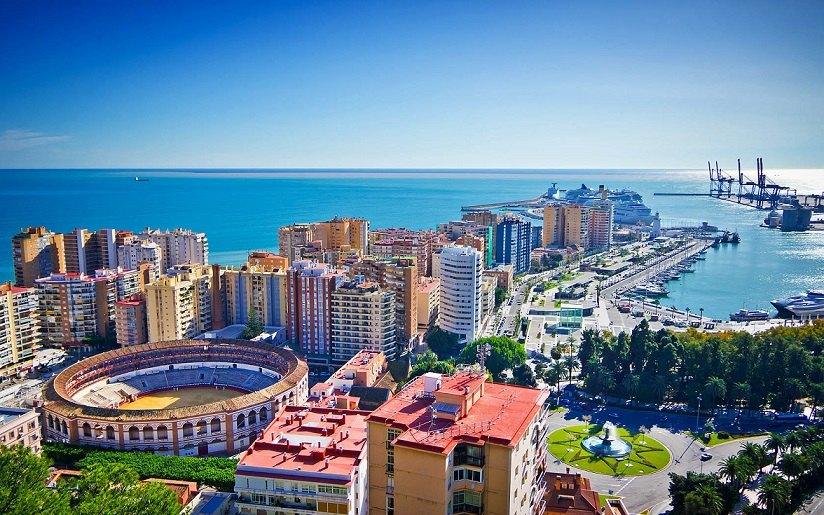 Thành phố Malaga của Tây Ban Nha