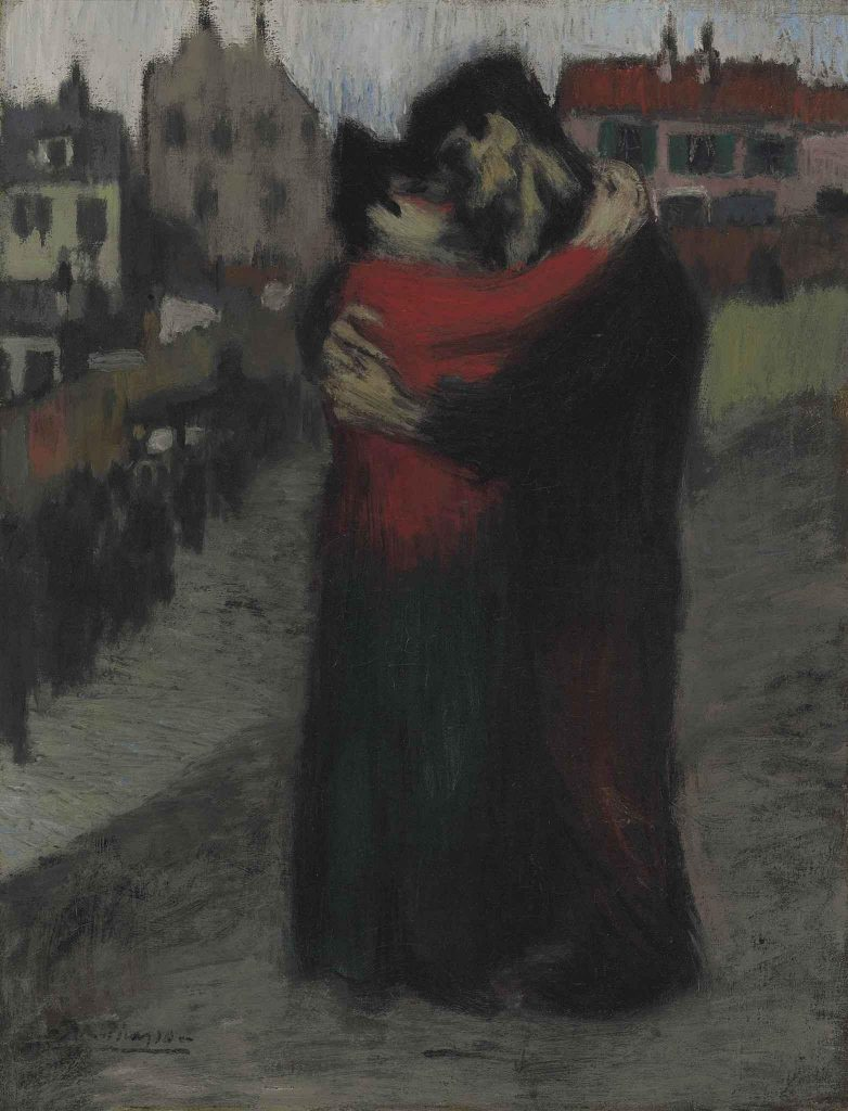 Lovers in the Street -1900