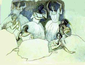 Chuyện tình nàng vũ công tài năng Olga Koklova và thiên tài hội họa Picasso