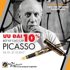 Ưu đãi đặc biệt mừng sinh nhật Picasso