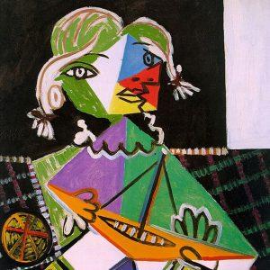 Bút ký về tình cảm dành cho cô con gái nhỏ Maya của danh họa Picasso