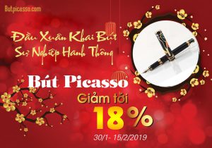 Khuyến Mại Đặc Biệt Chào Xuân – Giảm Giá 18% Bút Picasso